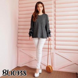BL10938 tied sweater
