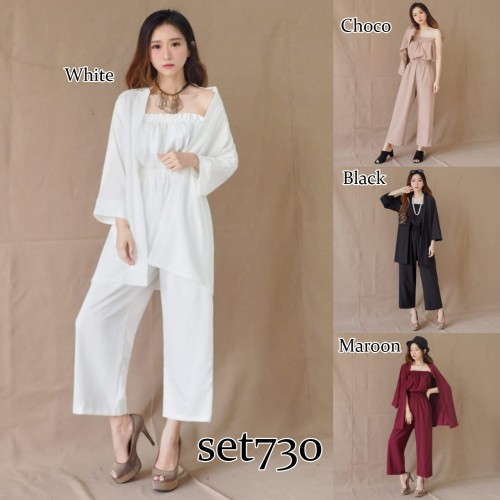 SET730 jumpsuit + outer