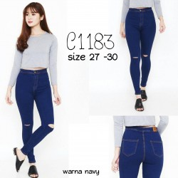 C1183 Jeans highwaist