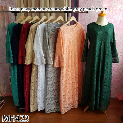 MH423 dress brukat