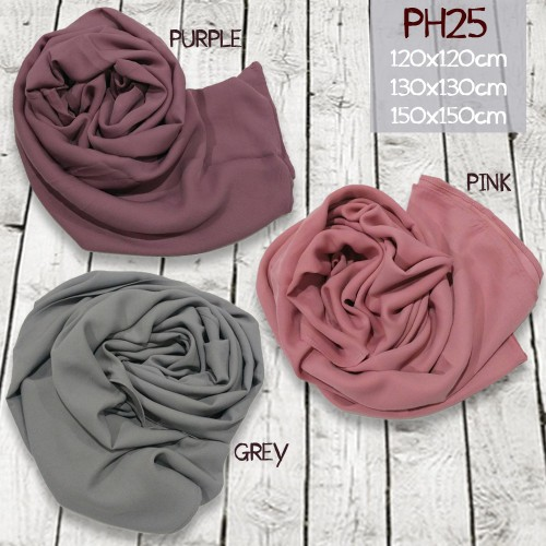 SALE PH25 HIJAB SEGI EMPAT 120X120